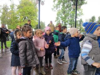 Dječji tjedan - nastup u parku